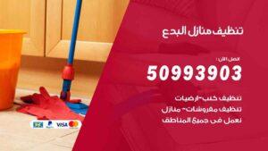 تنظيف منازل البدع